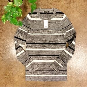 NWT Banana Republic Ribbed Knit Striped Sweater